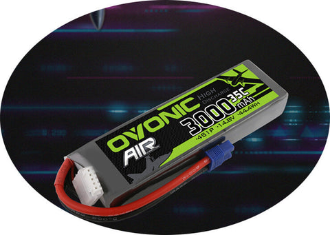 Ovonic 14.8v 3000mAh 4S 35C EC3 battery