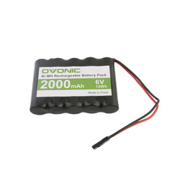Ovonic NIMH 5S1P 6V 2000mAh battery for RC Car&Airplane RC receivers