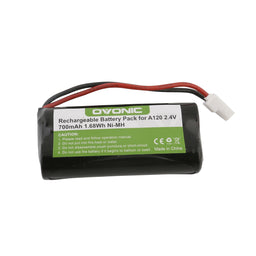 Ovonic 700mAh 2.4V 2S1P NIMH battery with Type 5264 plug for cordless phone