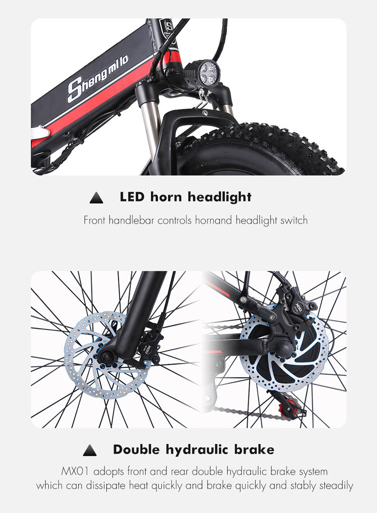 Shengmilo-MX01-1000W-48V-Foldable-Electric-Mountain-Bike-with-Full-Suspension-15