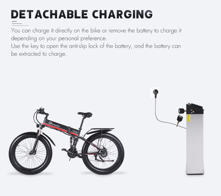 Shengmilo-MX01-1000W-48V-Foldable-Electric-Mountain-Bike-with-Full-Suspension-19