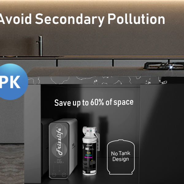 Tankless RO water filter, no pollution  alkaline remineralization water filter