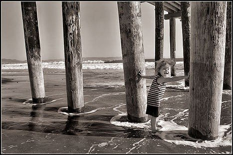 how to create a beach backdrop for photography