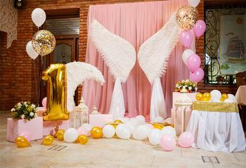 Angel Wing Photography Backdrop for Baby