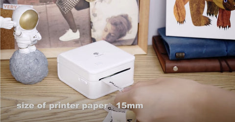 15mm size of printer paper