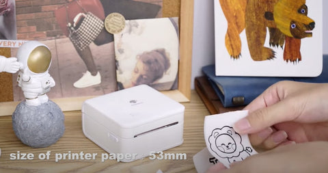 53mm size of printer paper