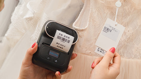 If you want to make money when you open a clothing store, don't forget to use M110 mini bluetooth printer to do these points