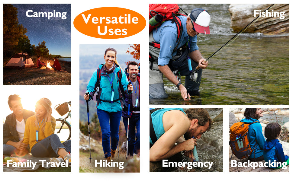 Personal Water Filter for Hiking