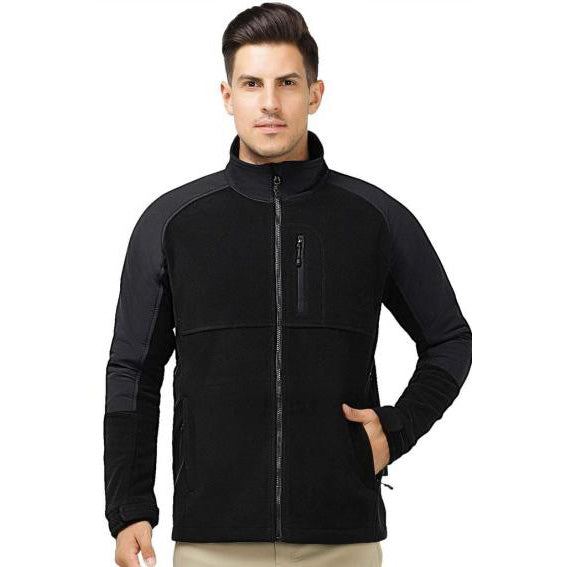 Soft Fleece Jacket with Zipper Pockets