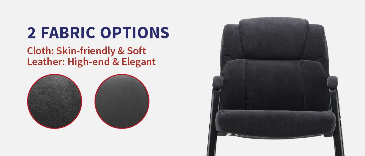 Clatina LOPEZ Upholstered Ergonomic Guest Chair Feature 3