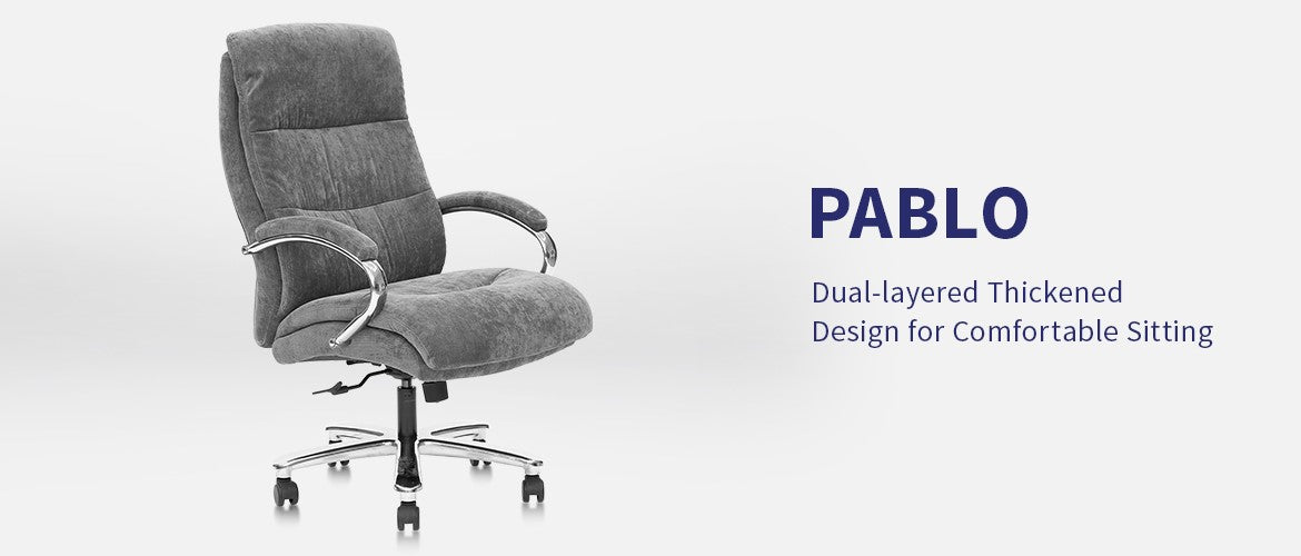 Clatina Pablo Ergonomic Big and Tall Executive Office Chair Overview