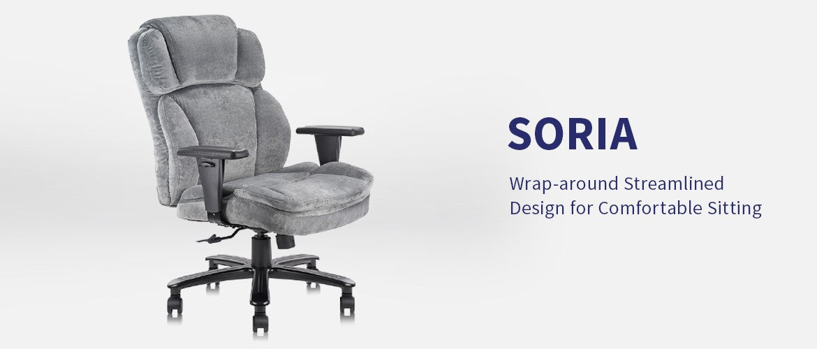 Clatina Soria Big and Tall Ergonomic Office Executive Chair Overview