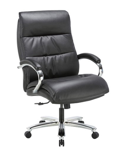 Clatina YWA2104 Big and Tall Leather Executive Chair Overview 2