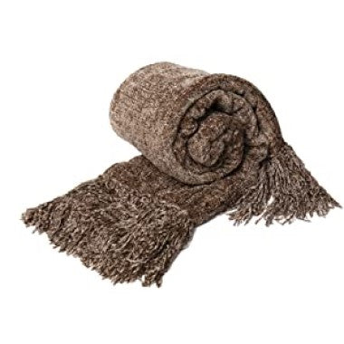 Dozzz Chenille Fluffy Knitted Blanket for Home Decor Feature 1