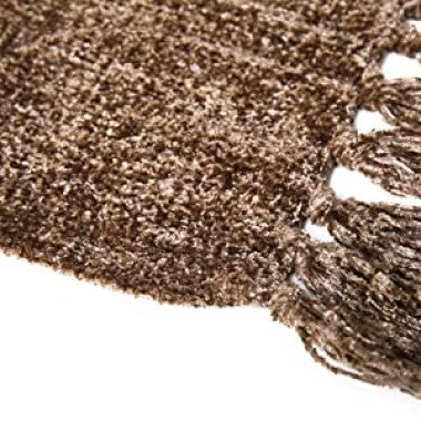 Dozzz Chenille Fluffy Knitted Blanket for Home Decor Feature 2