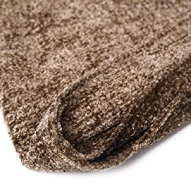 Dozzz Chenille Fluffy Knitted Blanket for Home Decor Feature 3