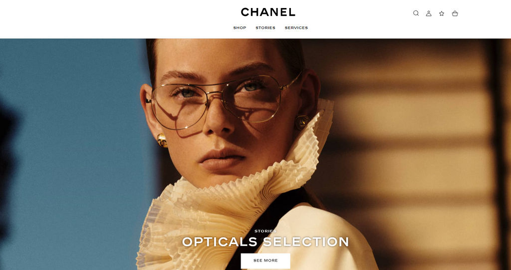 Chanel eyeglasses