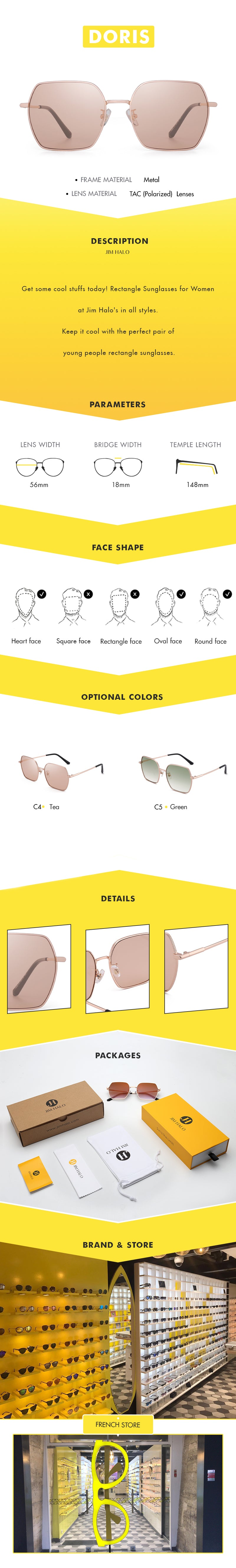 Get some cool stuffs today! Rectangle Sunglasses for Women at Jim Halo's in all styles.  Keep it cool with the perfect pair of young people rectangle sunglasses.