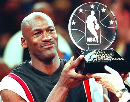 Michael Jordan and awards