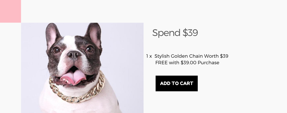Frenchiely french bulldog collars for free with any $39.00 purchase