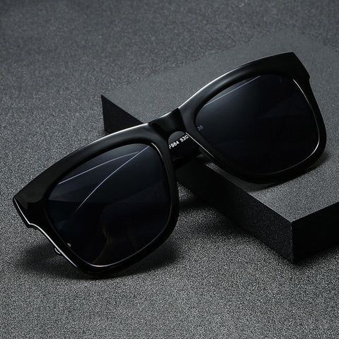 Trendy Square Unisex Polarized Sunglasses Pic