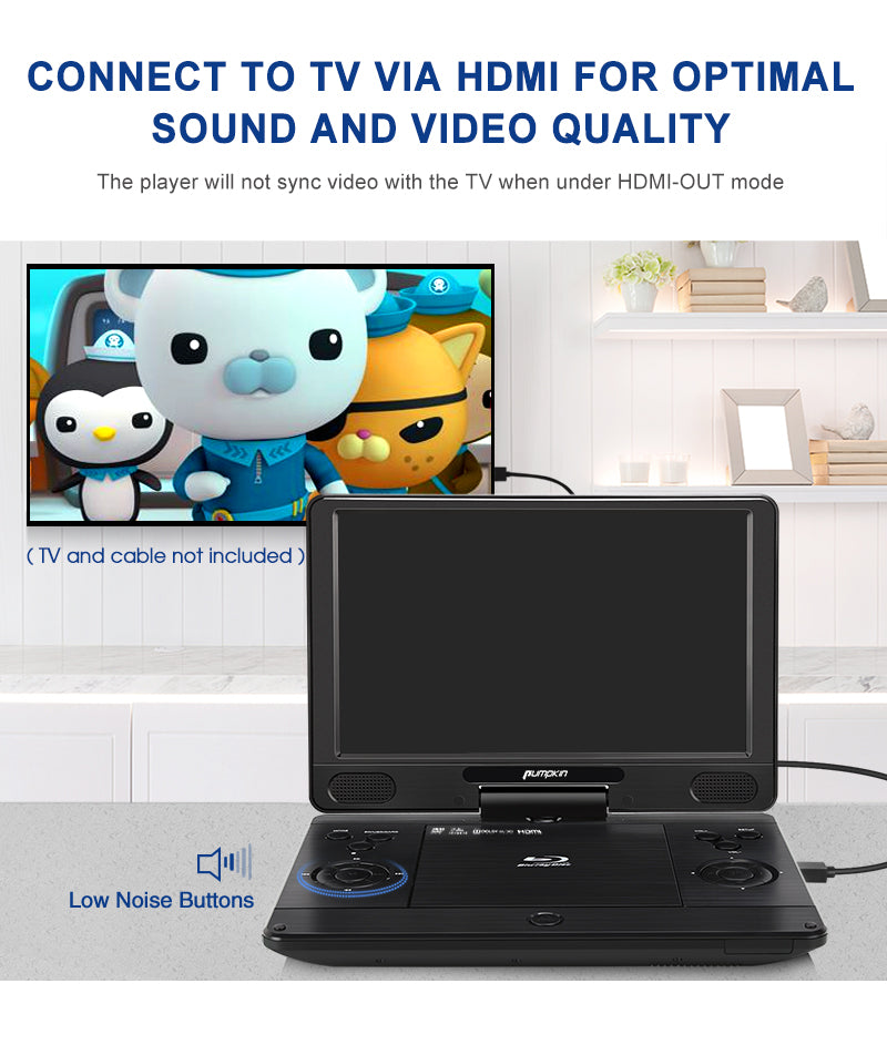 portable blu ray dvd player for car