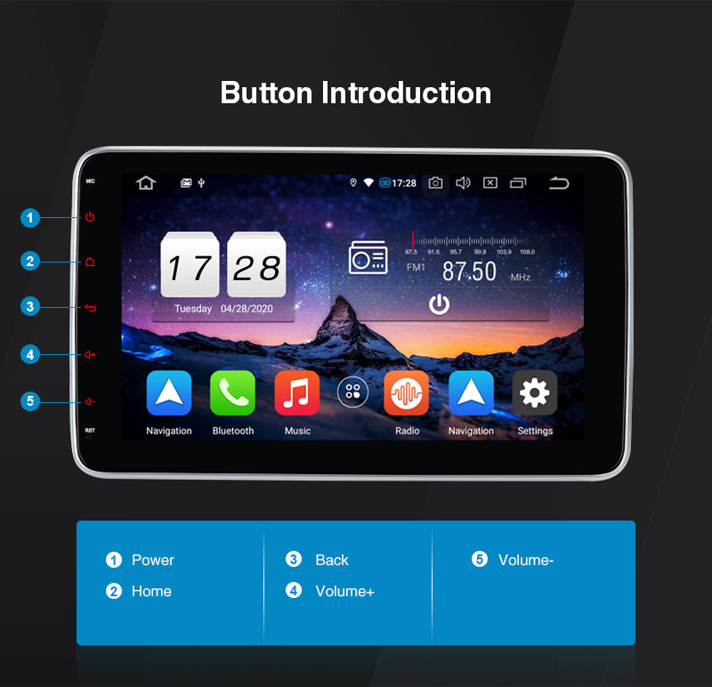 Android 10 car multimedia system