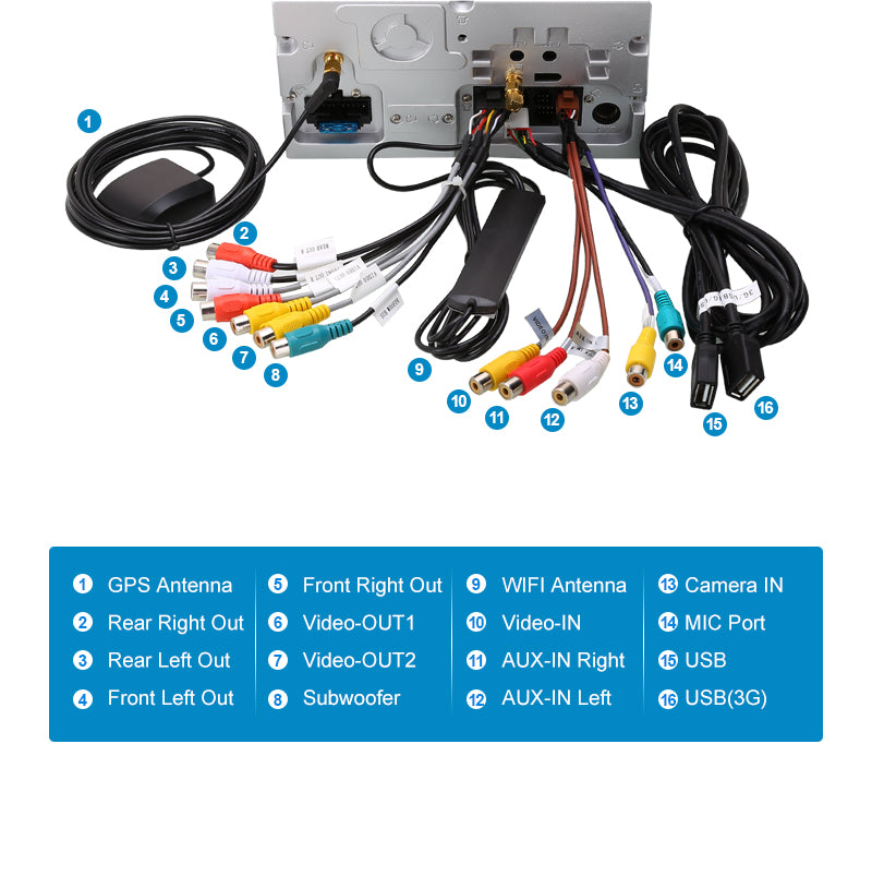 touch screen car stereo for ford