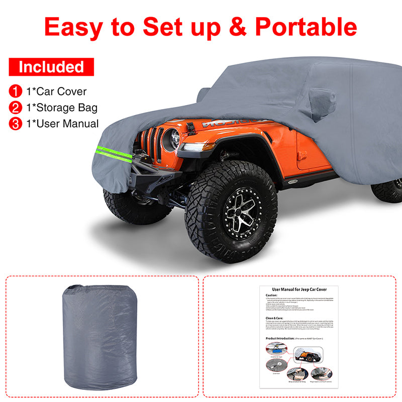 jeep Outdoor Car Covers