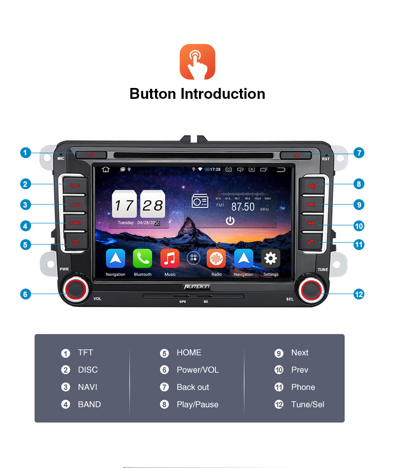 vw infotainment system