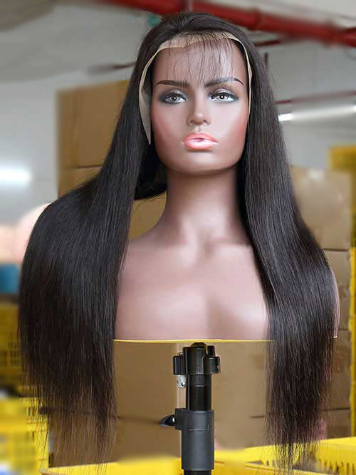 Wholesale Lace Front Human Hair Wigs With Pre-plucked Natural Hairline
