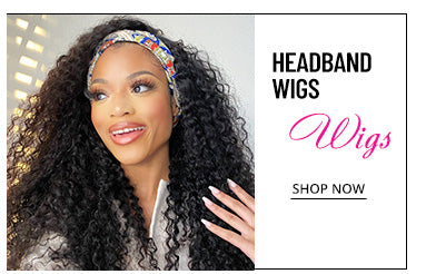 USA Stock Headband wigs