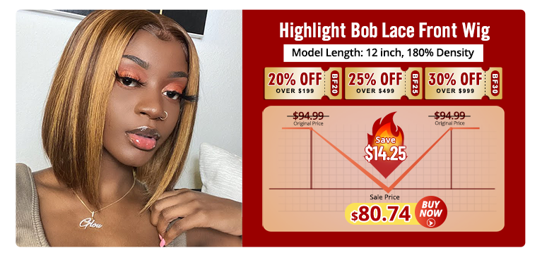 Highlight Bob Lace Front Wigs