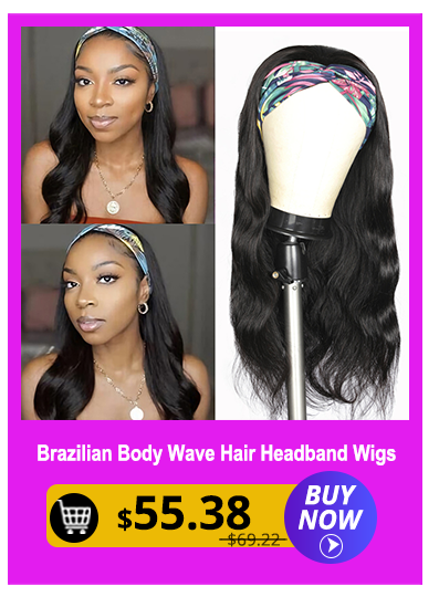 Glueless Headband Wig Brazilian Body Wave Human Hair Wigs BEGINNER FRIENDLY