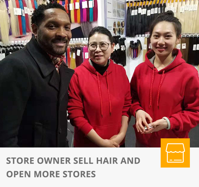 STORE OWNER SELL HAIR AND OPEN MORE STORES