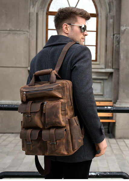 best leater backpack