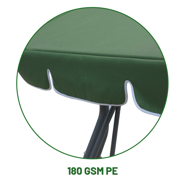 durable, waterproof canopy fabric for Zupapa 3-seat canopy swing