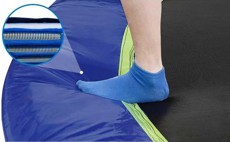 zupapa trampoline durable jumping mat