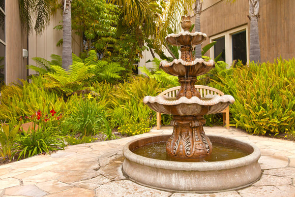 Sophistication with Fountains