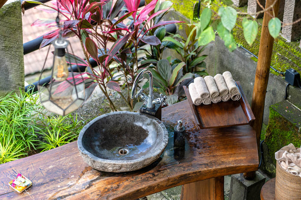 Transform a Dresser into a Potting Bench with a Sink