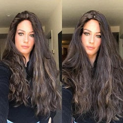 black synthetic wigs