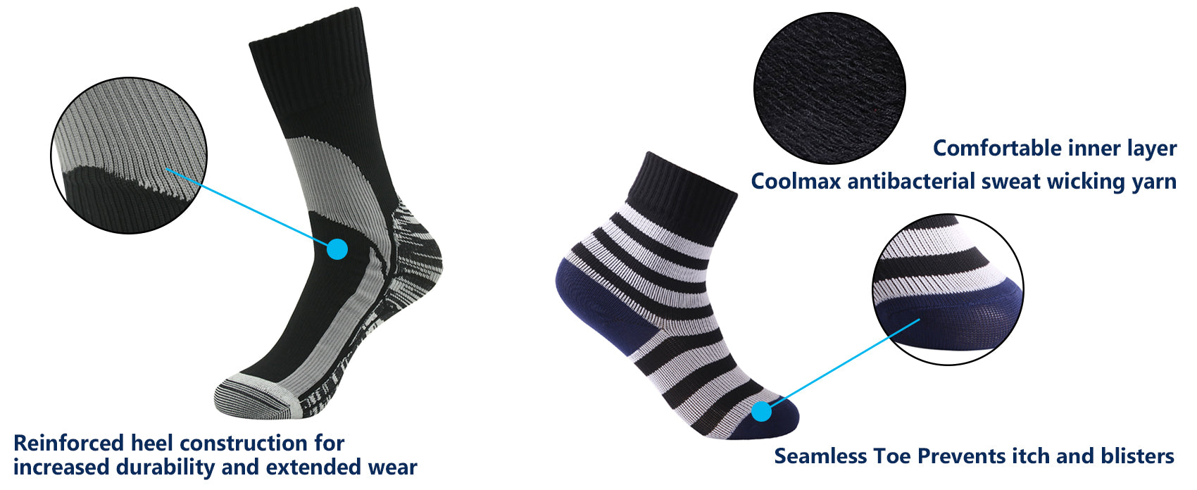 parents kids waterproof socks