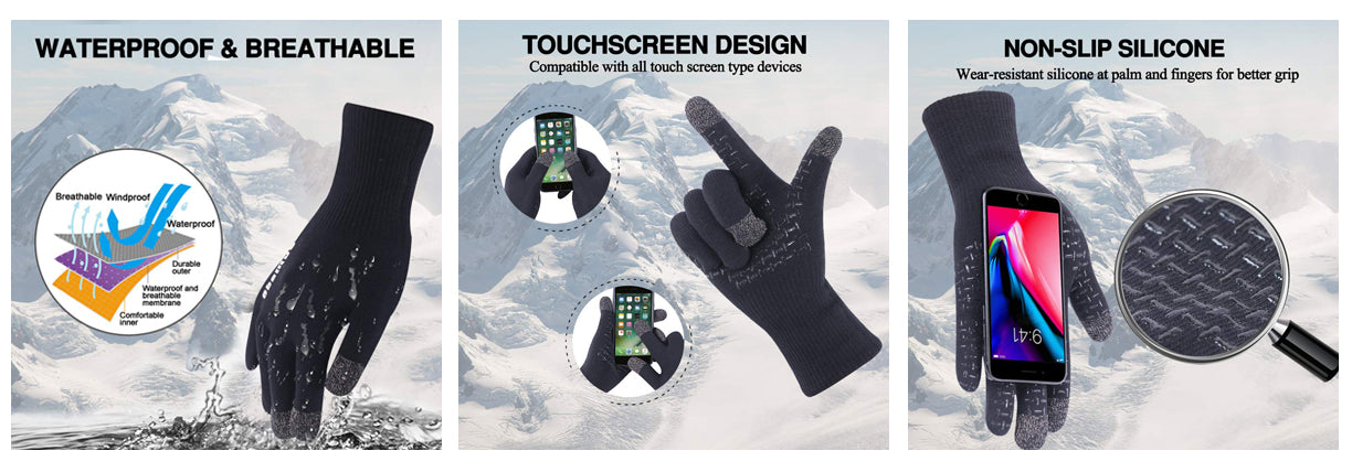 feature of waterproof gloves