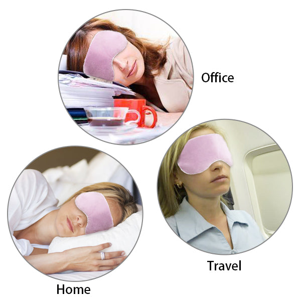 Heated Silk Eye Mask Best for these people