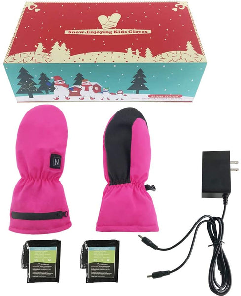 heated gloves for kids