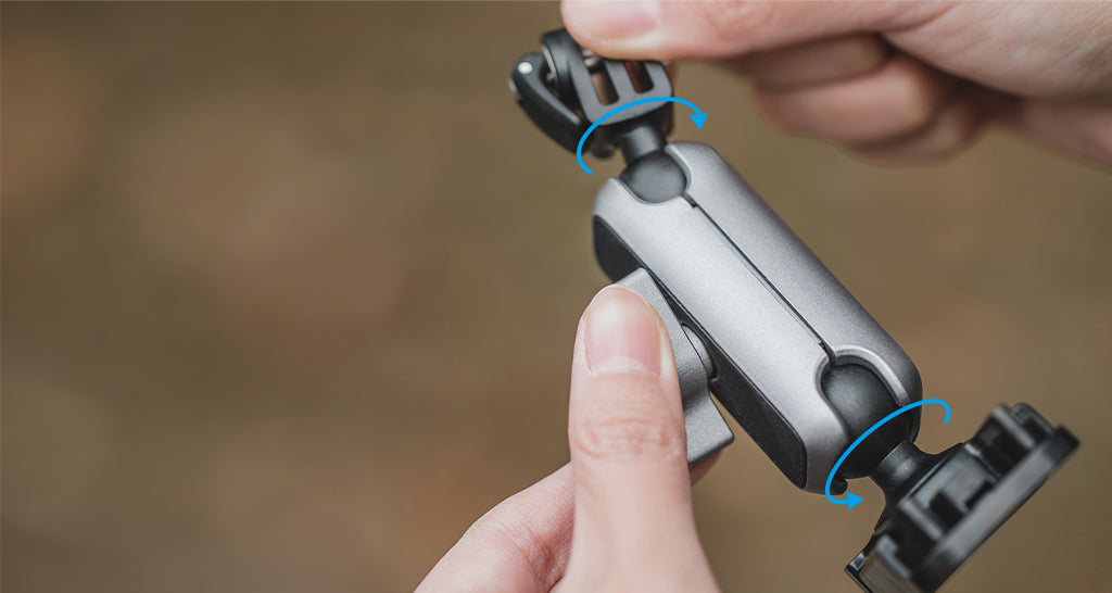 Action Camera Adhesive Mount - Capture creativity from any angle