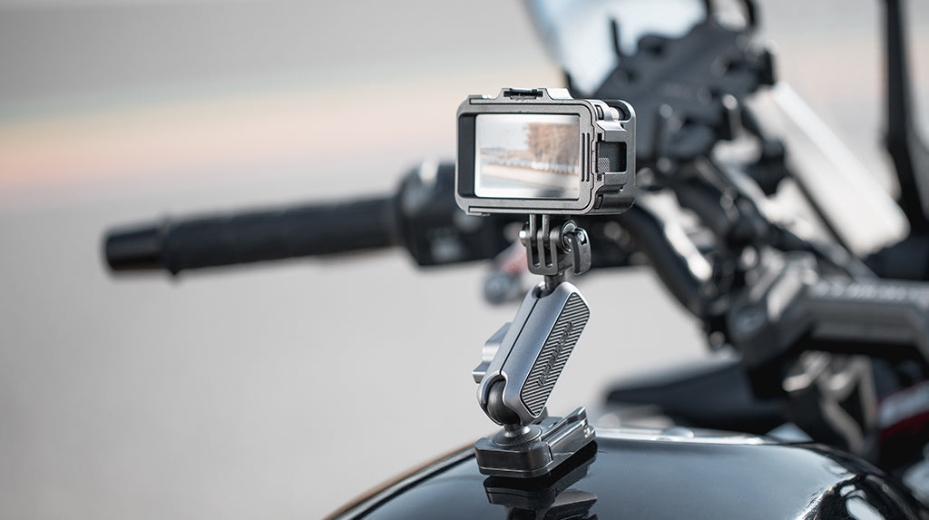 Action Camera Adhesive Mount - Capture whenever inspiration hits and do it hands-free