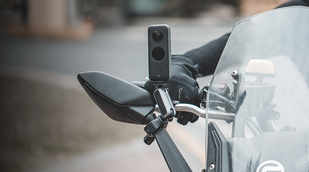 Action Camera Handlebar Mount Easy to capture cycling shots