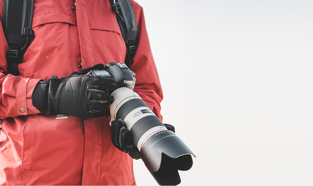 banner PHOTOGRAPHY GLOVES
