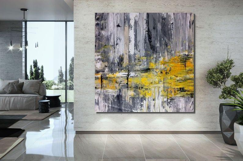 Original Hand Painted Acrylic Paintings, Bedroom Wall Art Painting, Large Paintings for Living Room, Modern Contemporary Art
